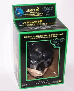 Batman Forever Cassette Player Recorder w/Sing Along Microph