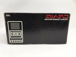 brand new thinline cassette recorder model j103