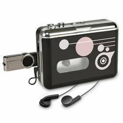 Cassette Player , Portable Converter Recorder Convert Tapes
