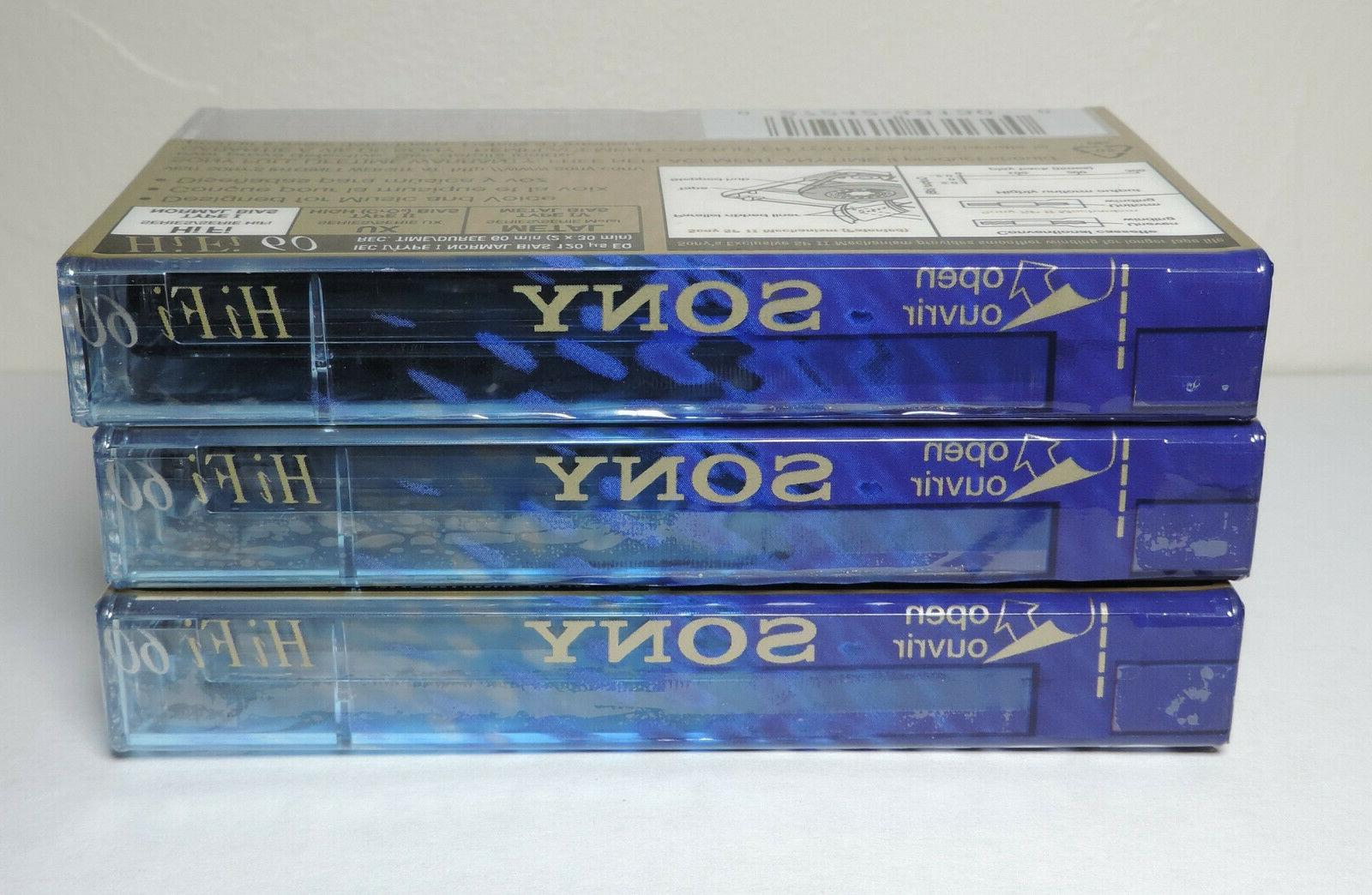 SONY 60 FI NORMAL SET OF 3