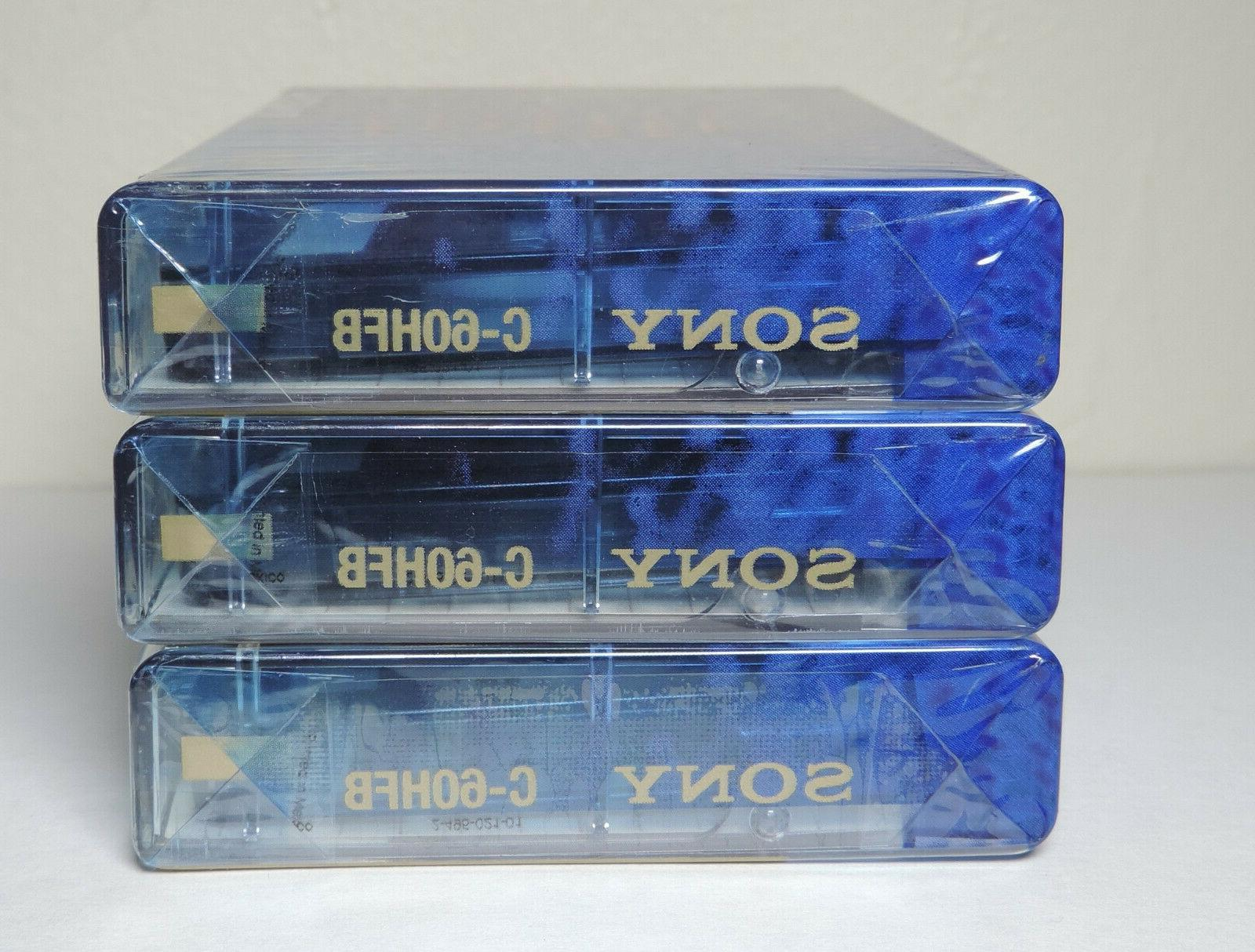SONY FI AUDIO NORMAL SET LOT OF 3 SEALED