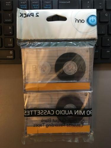 90 minutes audio cassettes blank recording tapes