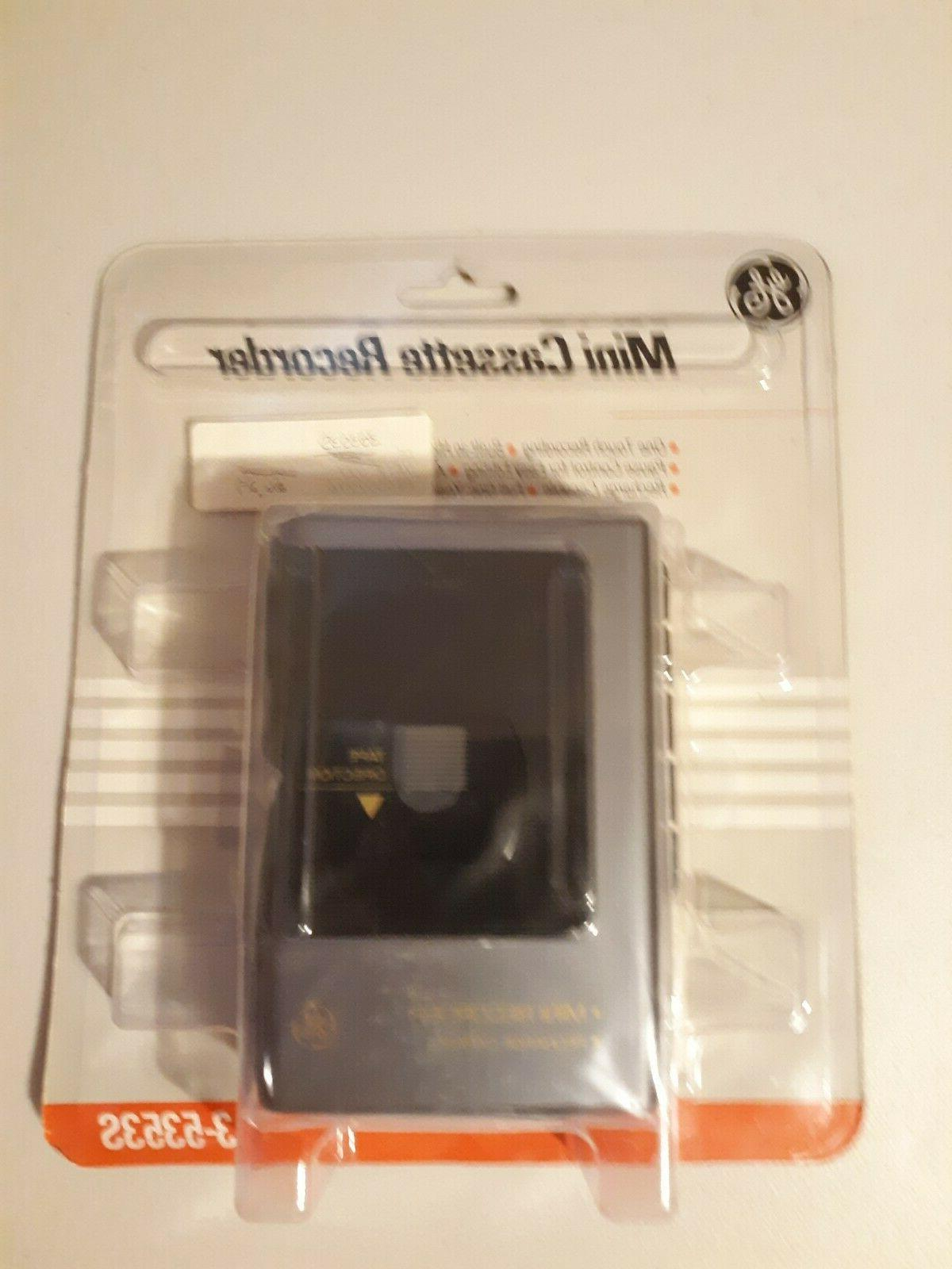 brand new neral electric mini cassette recorder