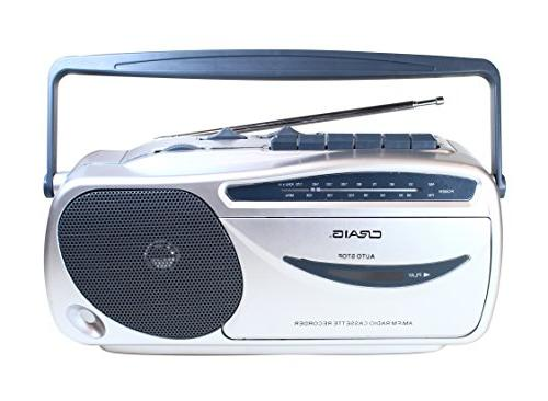Craig CD6911 AM/FM Player with Recorder