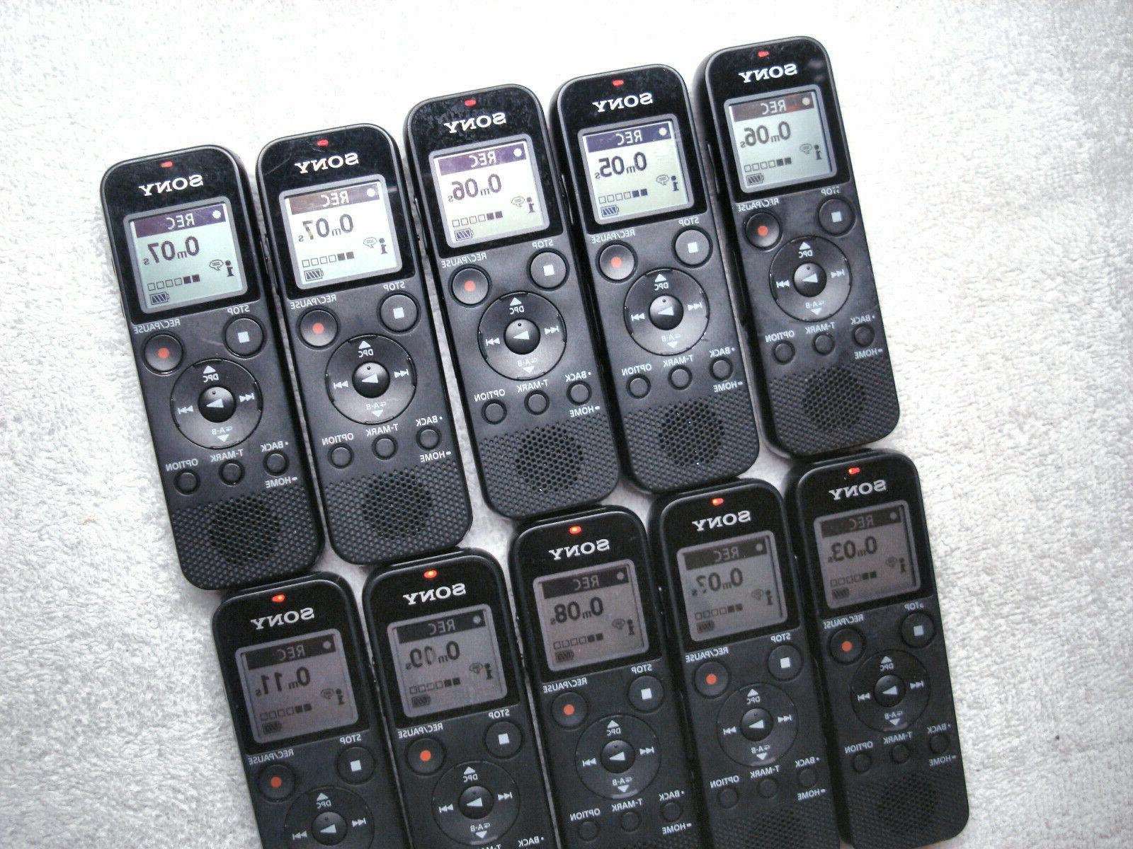 Sony Recorder 4GB w/ Card & Connect