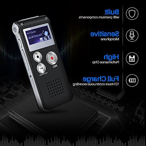 Voice TOOBOM Digital Voice Recorder - Double Body Lecture