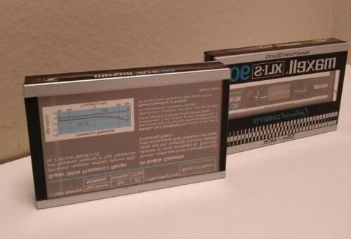 Maxell Blank Audio Cassette Epitaxial