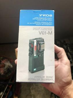 Sony M-19V Microcassette Voice Recorder
