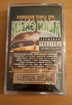 Mean Green - Major Players *sealed cassette* No Limit Record