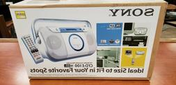 NEW & SEALED - Sony CFD-E100 Portable CD Radio Cassette Reco