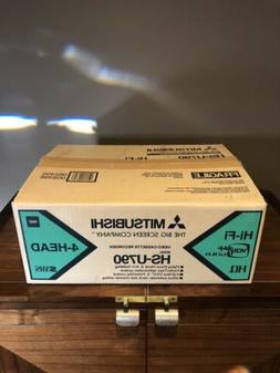 NEW Mitsubishi HS-U790 S-VHS 4 Head HiFi Stereo VCR video ca