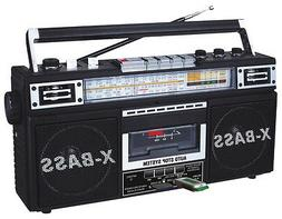 new radio and cassette tape converter recorder