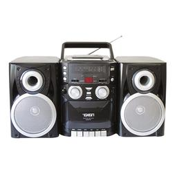 Portable Boombox CD Player AM FM Radio Stereo Vintage Casset