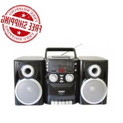 Portable CD Player AM FM Stereo Boombox Radio Cassette Tape