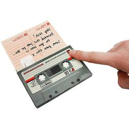Recordable Cassette Tape Greeting Card - Blank Notecard, Voi