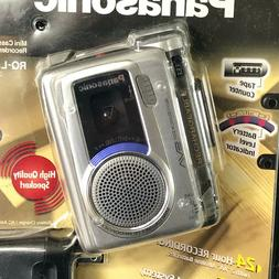 Panasonic RQ-L50 VAS Voice Activated Mini Cassette Rechargea