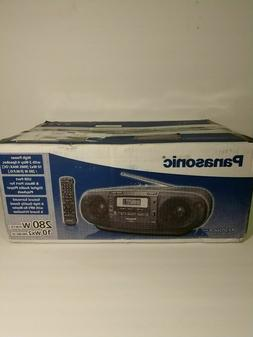 Panasonic RX-D55GC-K Boombox High Power MP3 CD AM/ FM Radio