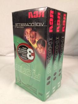 RCA T-120 6 Hour 6hr Premium Blank VHS Video Cassette Tapes